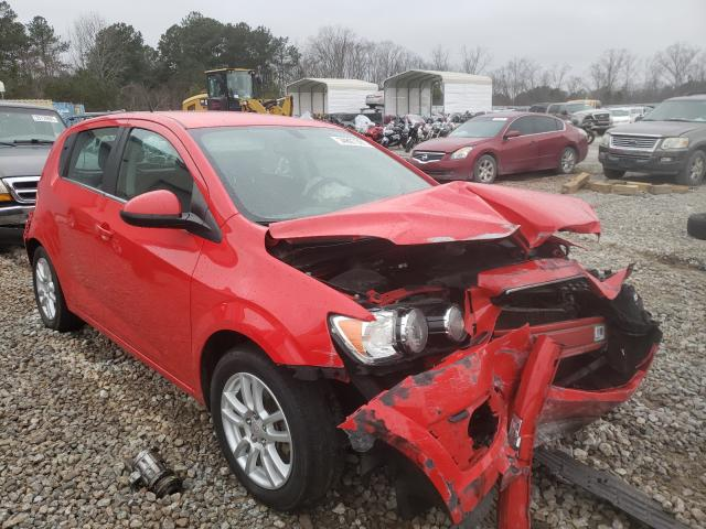 Salvage cars for sale from Copart Ellenwood, GA: 2014 Chevrolet Sonic LT