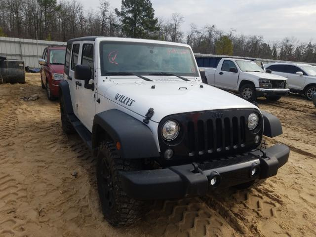 Salvage cars for sale from Copart Gaston, SC: 2018 Jeep Wrangler U