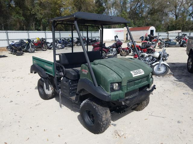 Salvage cars for sale from Copart Ocala, FL: 2012 Kawasaki KAF950 F