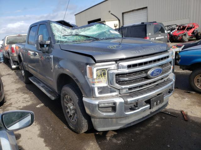 Salvage cars for sale from Copart Woodburn, OR: 2020 Ford F250 Super