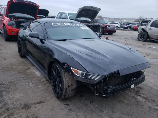 Salvage cars for sale from Copart Tulsa, OK: 2017 Ford Mustang GT