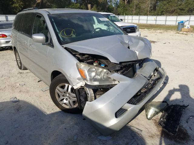 Salvage cars for sale from Copart Ocala, FL: 2005 Honda Odyssey EX