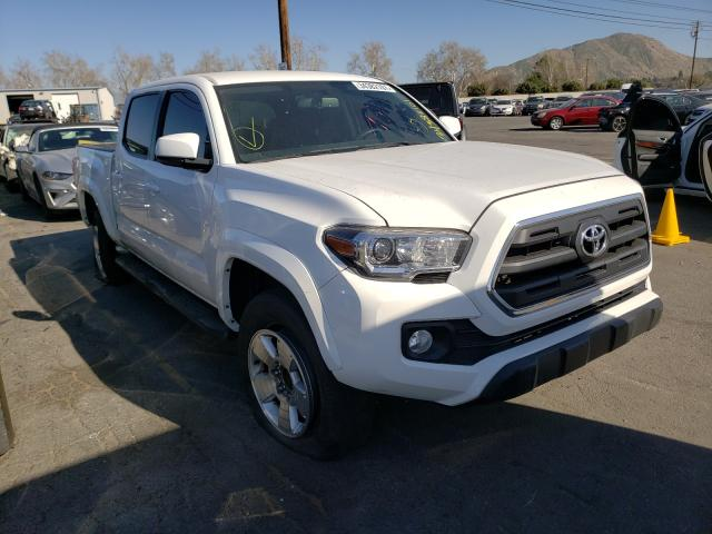 Salvage cars for sale from Copart Colton, CA: 2017 Toyota Tacoma DOU