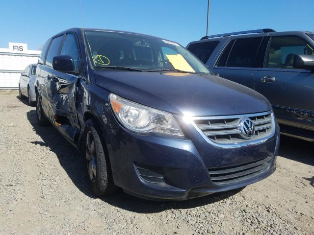 Salvage cars for sale from Copart Sacramento, CA: 2009 Volkswagen Routan SE