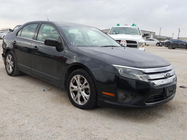 Salvage cars for sale from Copart San Antonio, TX: 2012 Ford Fusion SE