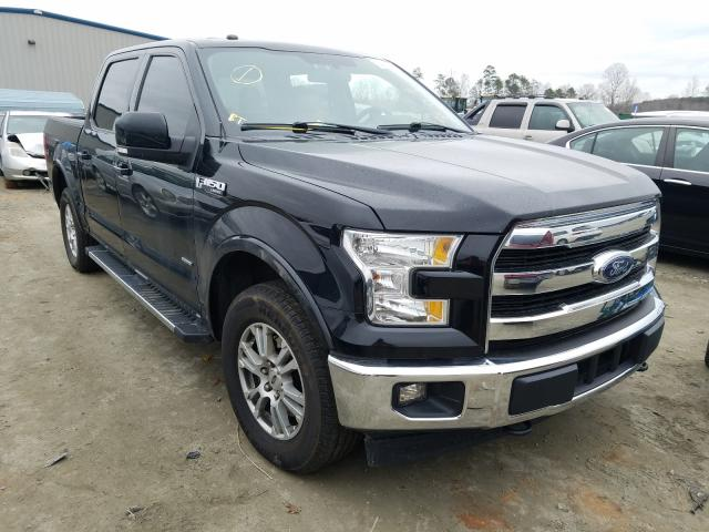 Salvage cars for sale from Copart Spartanburg, SC: 2017 Ford F150 Super