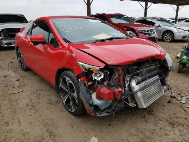 Salvage cars for sale from Copart Temple, TX: 2015 Honda Civic SI