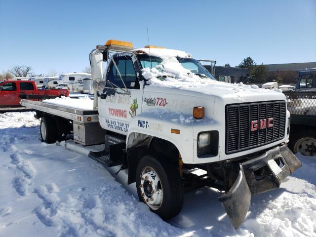 Salvage trucks for sale at Littleton, CO auction: 1995 GMC Topkick C6