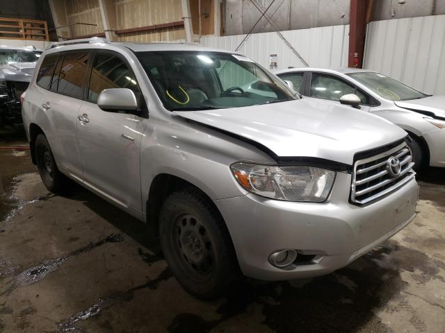 Salvage cars for sale from Copart Anchorage, AK: 2008 Toyota Highlander