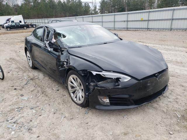Salvage cars for sale from Copart Charles City, VA: 2017 Tesla Model S