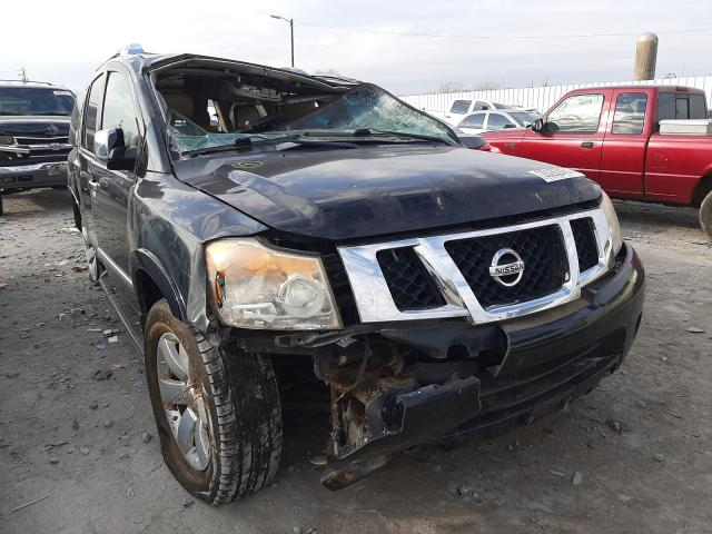 Salvage cars for sale from Copart Montgomery, AL: 2012 Nissan Armada SV