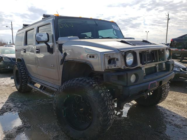 Salvage cars for sale from Copart Indianapolis, IN: 2003 Hummer H2