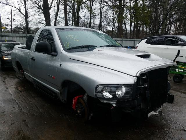 Dodge RAM SRT10 salvage cars for sale: 2005 Dodge RAM SRT10