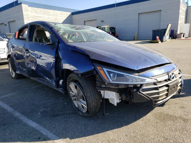 Salvage cars for sale from Copart Rancho Cucamonga, CA: 2020 Hyundai Elantra SE