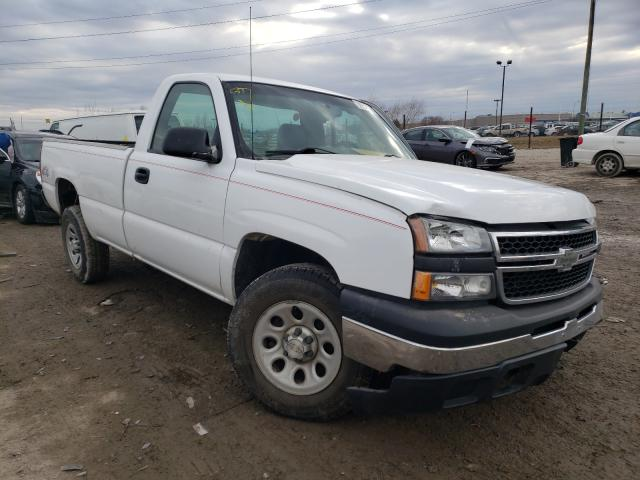 Salvage cars for sale from Copart Indianapolis, IN: 2007 Chevrolet Silverado