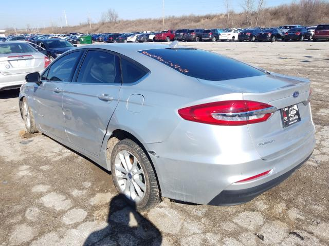 2019 FORD FUSION SE - Right Front View