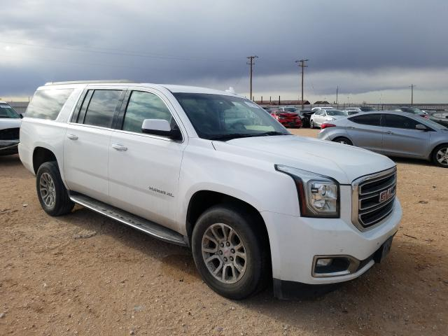 Salvage cars for sale from Copart Andrews, TX: 2016 GMC Yukon XL C