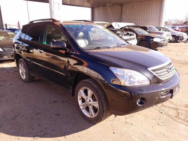 Salvage cars for sale from Copart Fort Wayne, IN: 2008 Lexus RX 400H