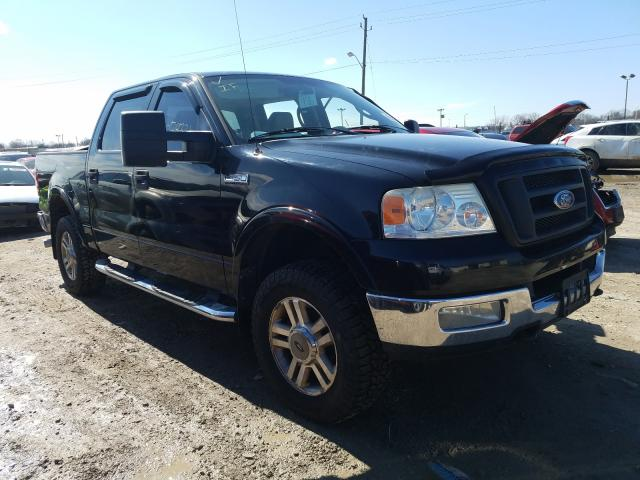 Salvage cars for sale from Copart Indianapolis, IN: 2005 Ford F150 Super