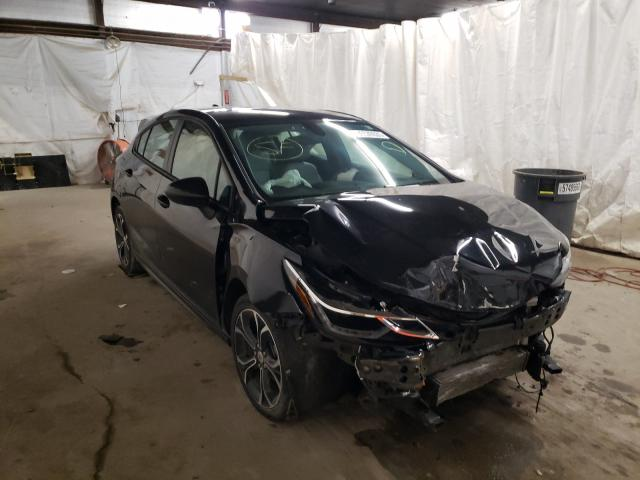 Salvage cars for sale from Copart Ebensburg, PA: 2019 Chevrolet Cruze LT