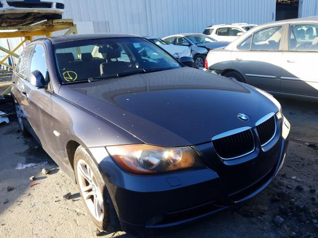 Salvage cars for sale from Copart Windsor, NJ: 2008 BMW 328 XI