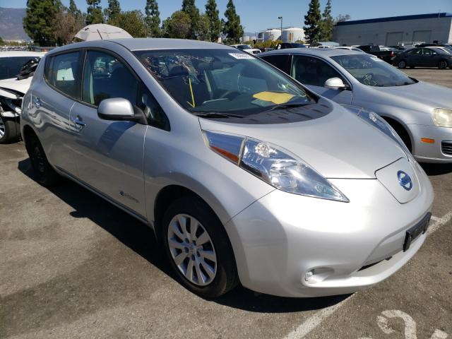 Salvage cars for sale from Copart Rancho Cucamonga, CA: 2016 Nissan Leaf S