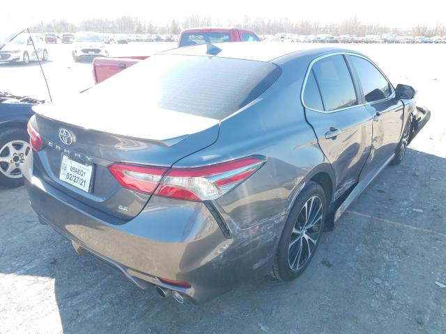 2019 TOYOTA CAMRY L - Right Rear View