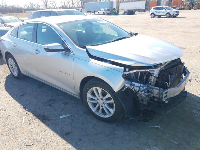 Salvage cars for sale from Copart Bridgeton, MO: 2017 Chevrolet Malibu LT