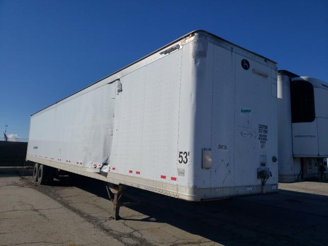 Salvage trucks for sale at Woodhaven, MI auction: 2006 Great Dane Semi Trail