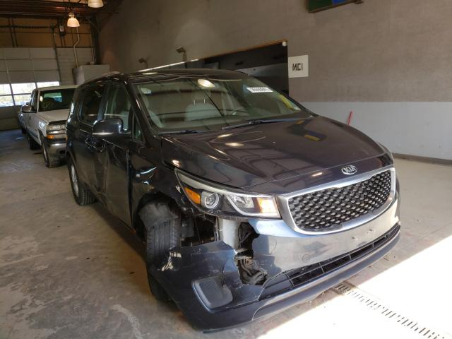 KIA salvage cars for sale: 2016 KIA Sedona LX