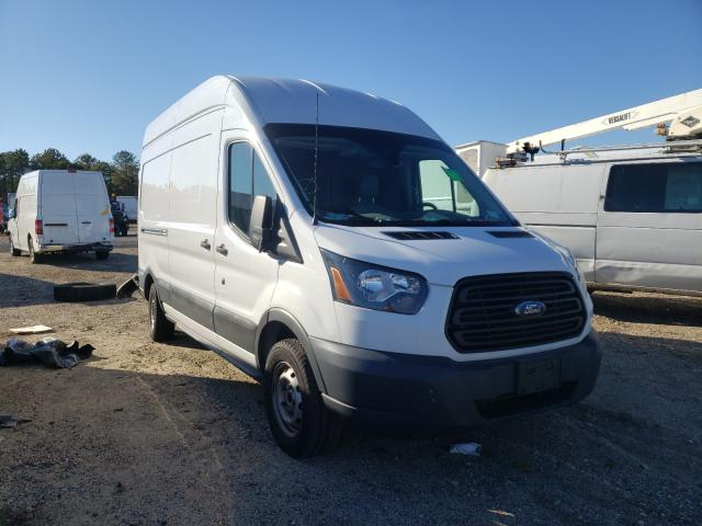 Salvage cars for sale from Copart Brookhaven, NY: 2017 Ford Transit T