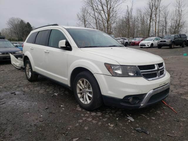 Salvage cars for sale from Copart Portland, OR: 2017 Dodge Journey SX