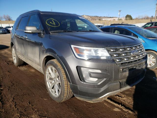 2017 Ford Explorer L en venta en Colorado Springs, CO