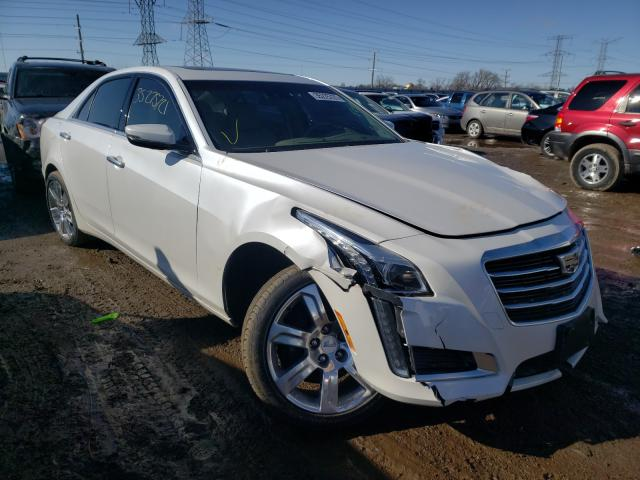 Salvage cars for sale from Copart Elgin, IL: 2016 Cadillac CTS Luxury