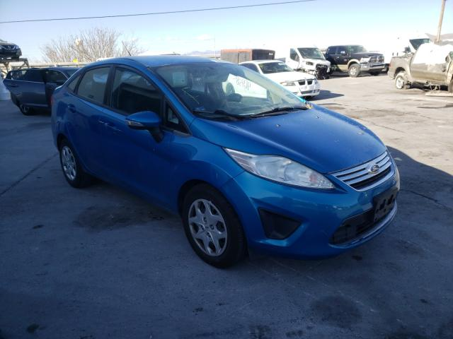 Salvage cars for sale from Copart Anthony, TX: 2013 Ford Fiesta SE