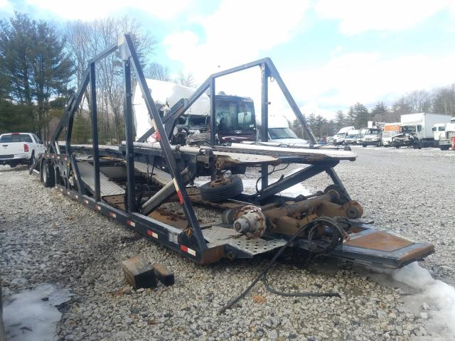 Salvage cars for sale from Copart West Warren, MA: 2002 Boydstun Carhauler