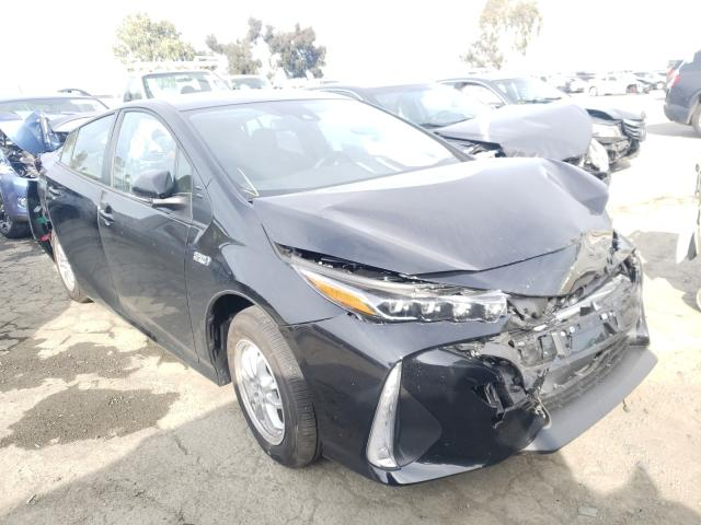 Salvage cars for sale from Copart Martinez, CA: 2021 Toyota Prius Prim