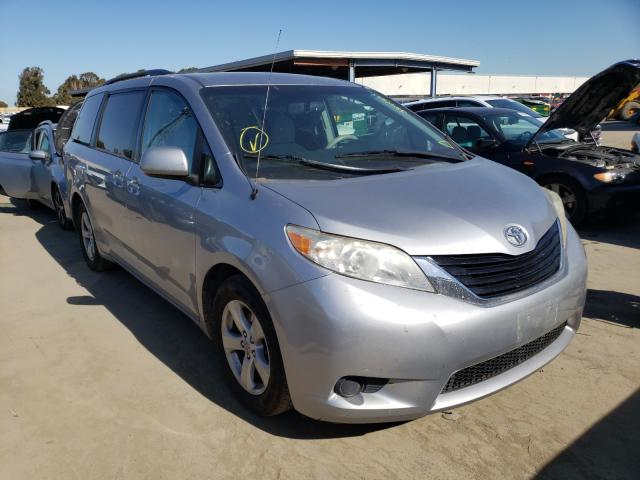 Salvage cars for sale from Copart Hayward, CA: 2012 Toyota Sienna LE