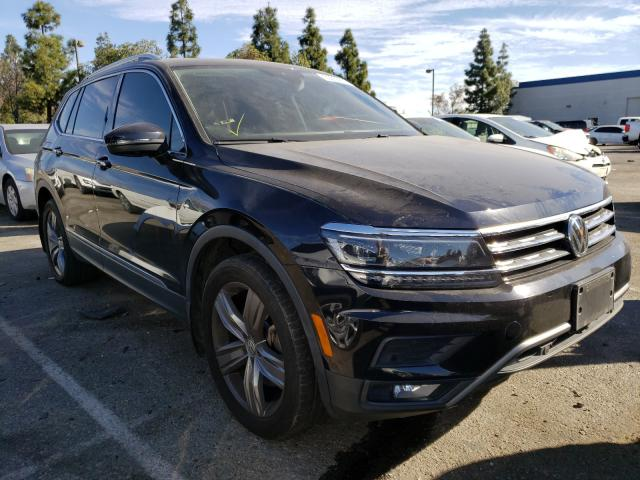 Salvage cars for sale from Copart Rancho Cucamonga, CA: 2018 Volkswagen Tiguan SEL