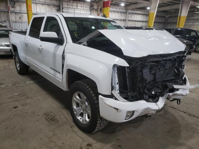 Salvage cars for sale from Copart Woodburn, OR: 2018 Chevrolet Silverado