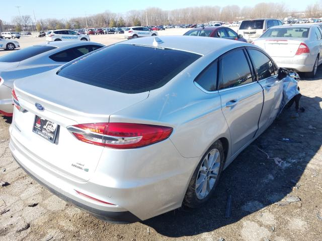 2019 FORD FUSION SE - Right Rear View
