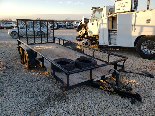 Salvage cars for sale from Copart San Antonio, TX: 2021 Big Tex Trailer