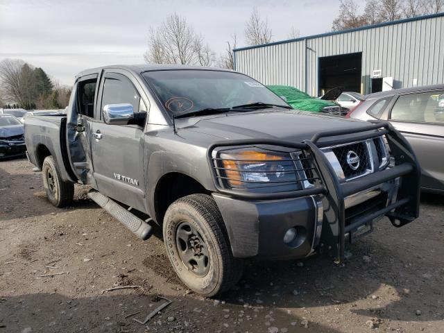 Salvage cars for sale from Copart Portland, OR: 2007 Nissan Titan XE
