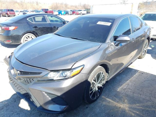 2019 TOYOTA CAMRY L - Left Front View