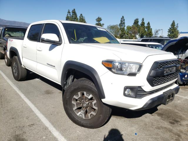 Salvage cars for sale from Copart Rancho Cucamonga, CA: 2018 Toyota Tacoma DOU