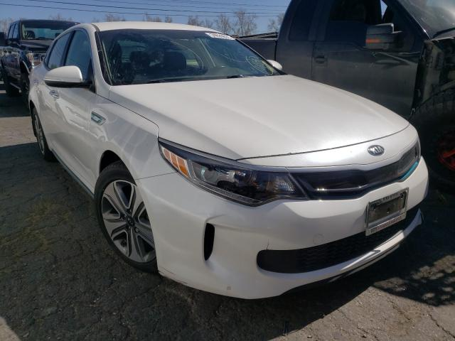 Salvage cars for sale from Copart Colton, CA: 2018 KIA Optima PLU