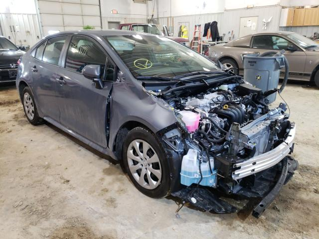 Toyota salvage cars for sale: 2021 Toyota Corolla LE