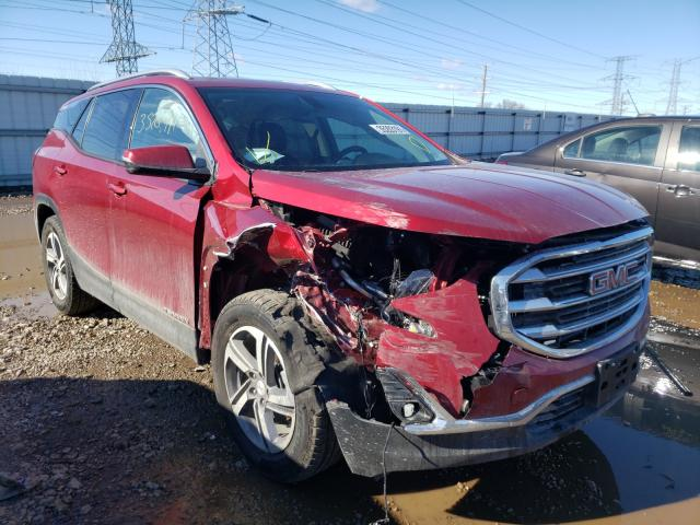Salvage cars for sale from Copart Elgin, IL: 2018 GMC Terrain SL