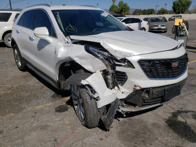 Salvage cars for sale from Copart Colton, CA: 2020 Cadillac XT4 Premium