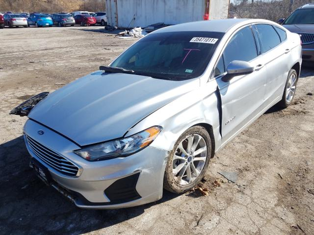 2019 FORD FUSION SE - Left Front View